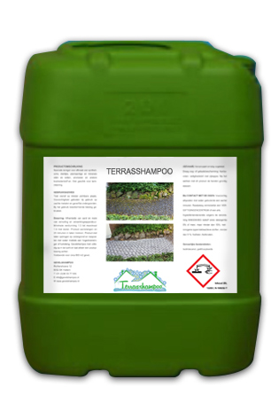 terrasshampoo 20L GREEN can